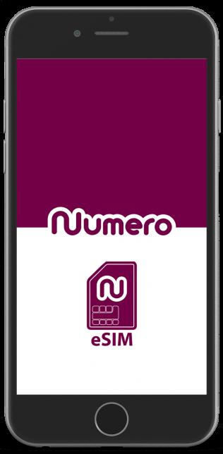 Numero eSIM app for virtual phone numbers