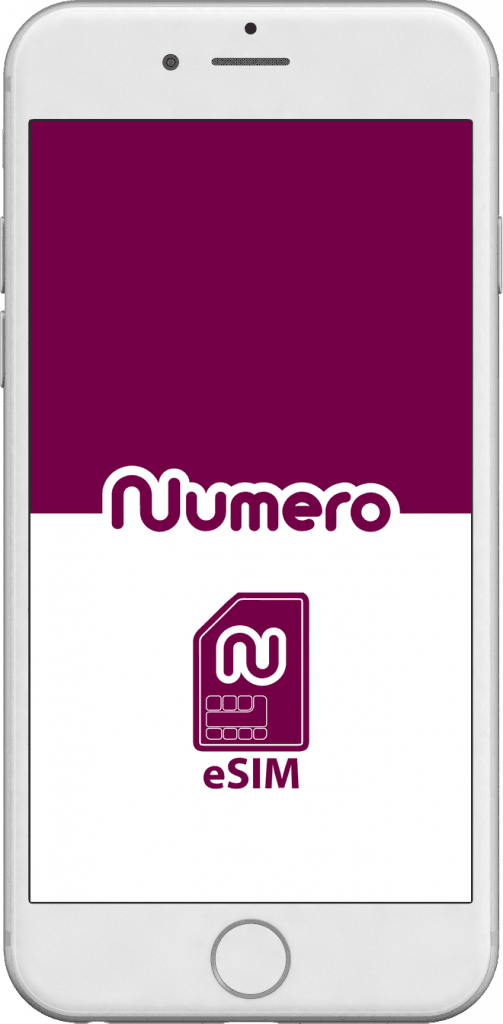 Numero eSIM app for vritual second phone number