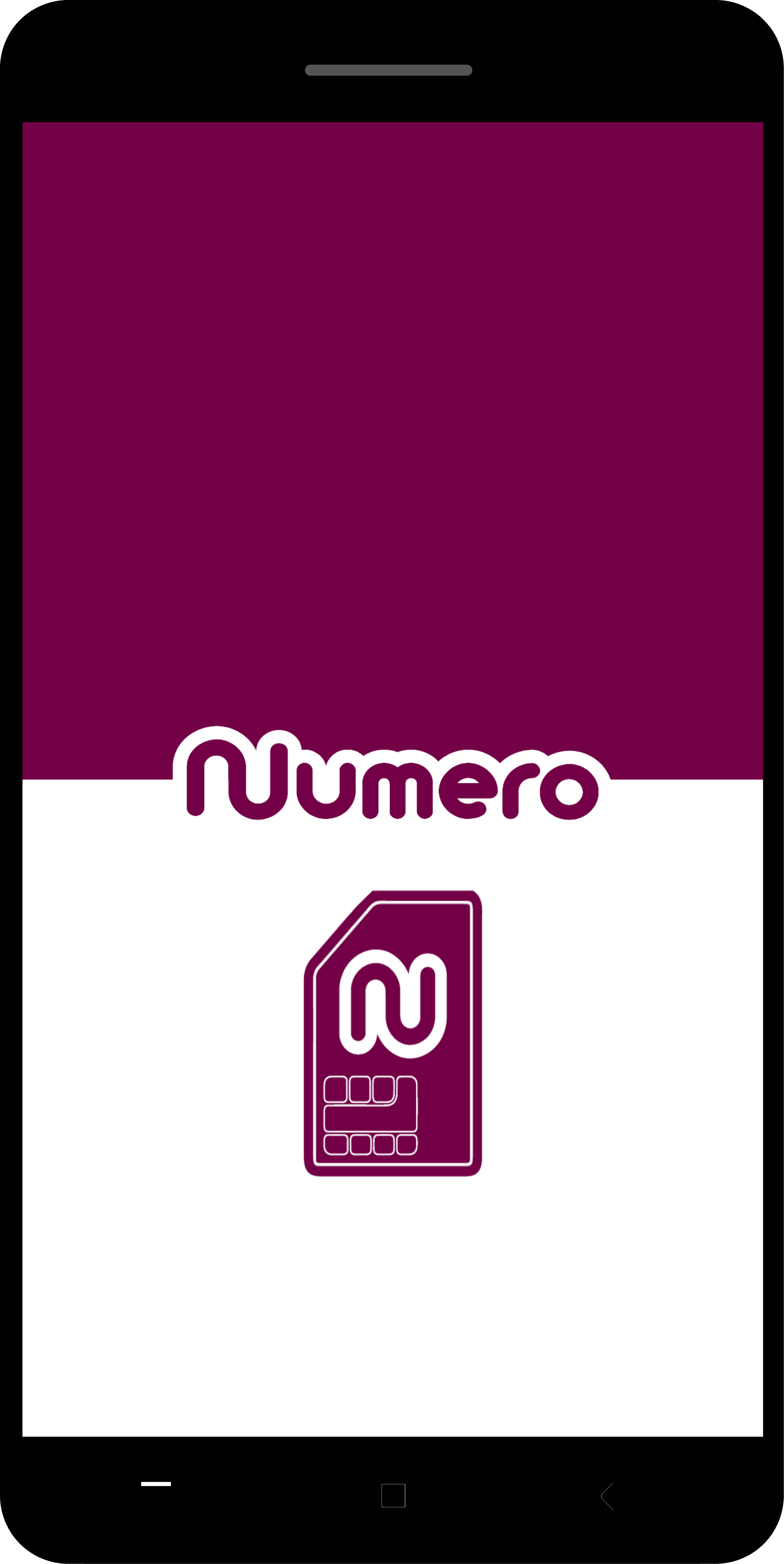 numero app on Android and iOS