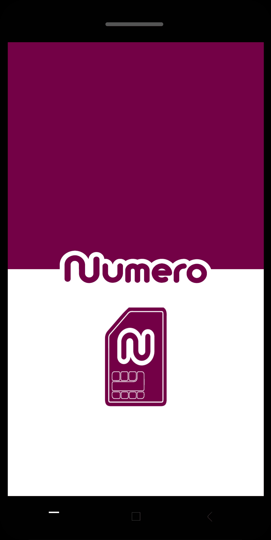 تطبيق نوميرو اي سيم