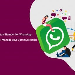 infographics English Virtual phone number on Whatsapp . jpg