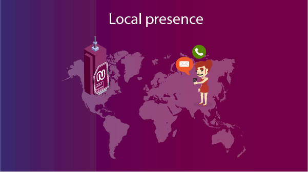 get a local presence using your virtual phone number for business