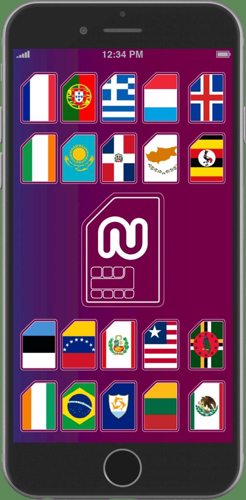 تم اضافة دول جديدة للحصول على رقم اجنبي وهمي