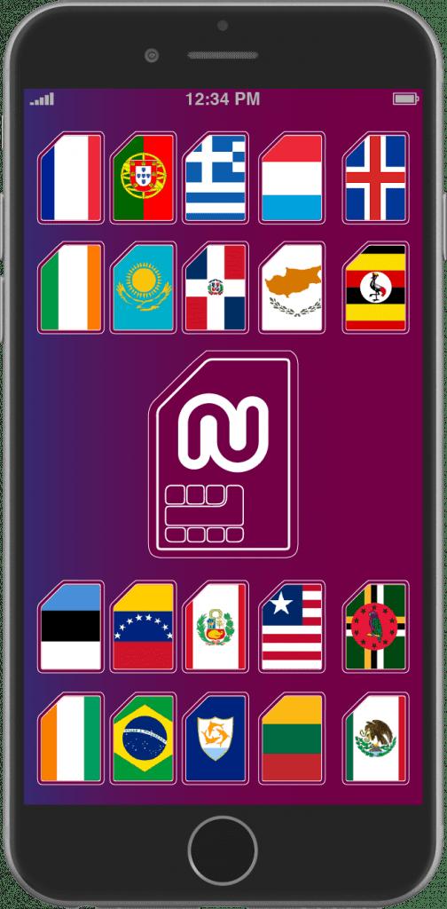 Vous pouvez maintenant acheter des numéros virtuels dans de nouveaux pays!