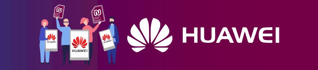 L'application Numero eSIM est maintenant disponible dans Huawei AppGallery!