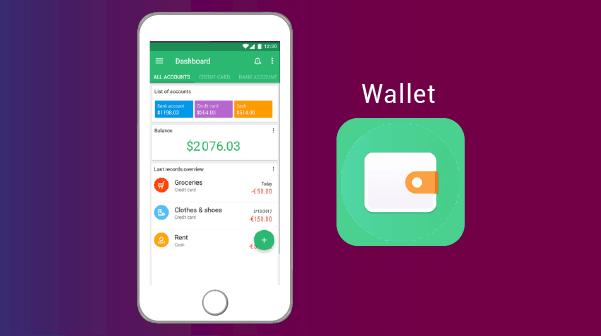 Wallet تحكم بنفقاتك - افضل تطبيقات الاندرويد والايفون