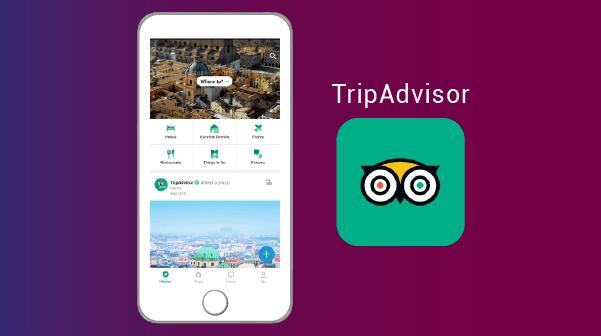 TripAdvisor اكتشف اماكن جديدة - افضل برنامج اندرويد وايفون