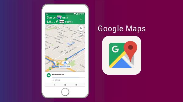 Google Map خرائط جوجل - افضل تطبيقات اندرويد وايفون