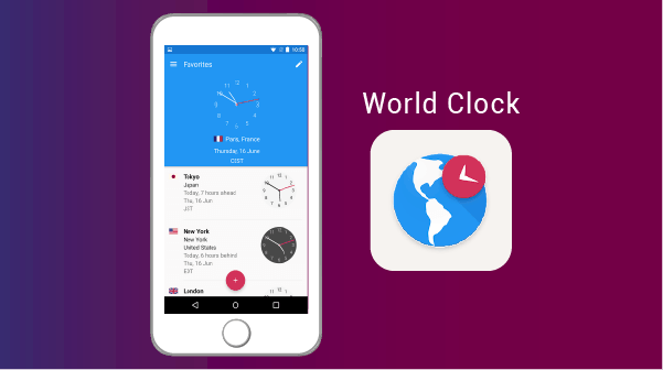World Clock apps for expats