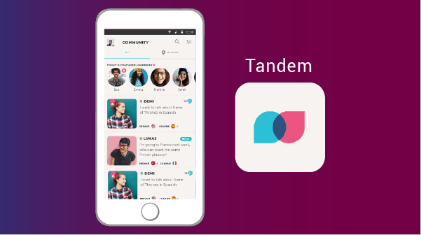 Tandem - best apps for expats
