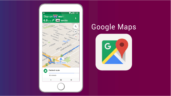 Google Map - best apps for living abroad
