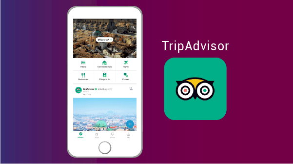 TripAdvisor - applications pour expatriés