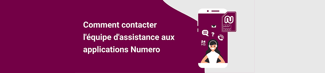 How to use Numero Customer Support - Fr