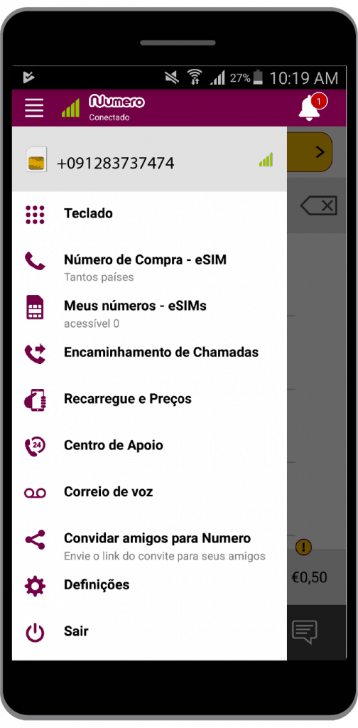 Numero eSIM App Is Now Available In Portuguese