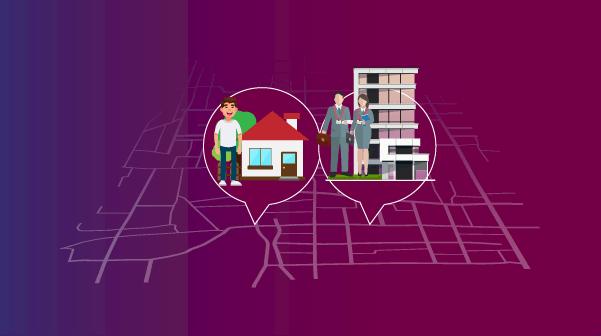 اختر شقة قريبة من مكان عملك