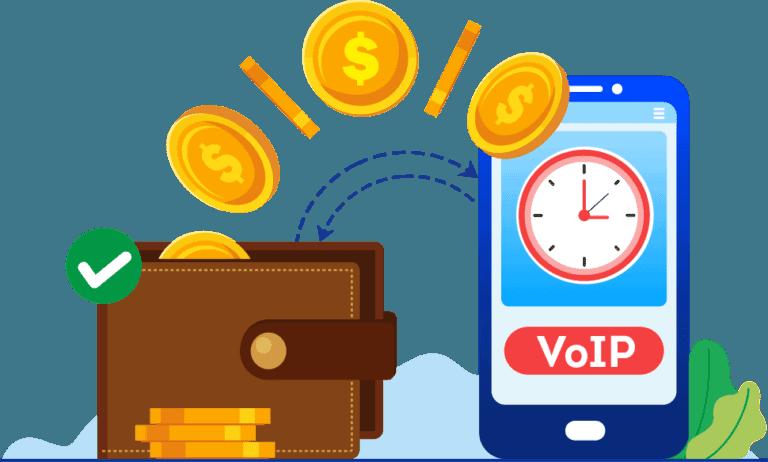 voip vs landline :VoIP saves time