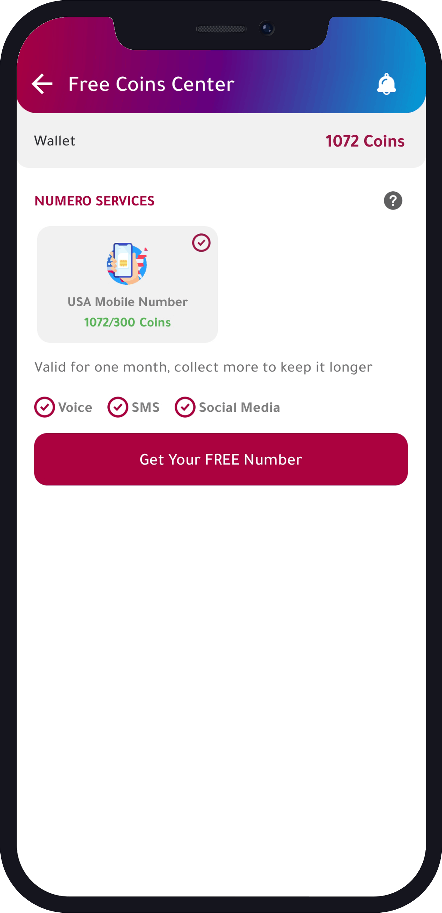 select Free us virtual phone number