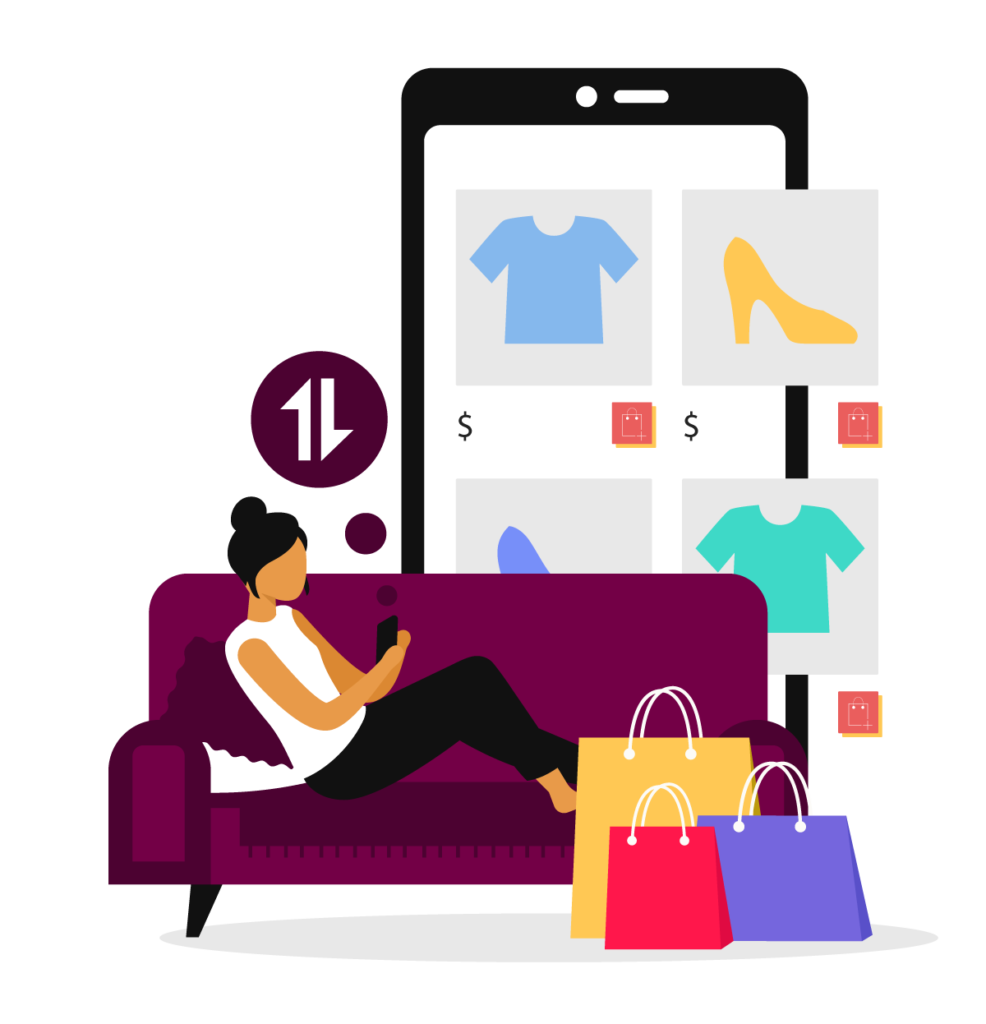 online shopping requires staying connected during covid 19