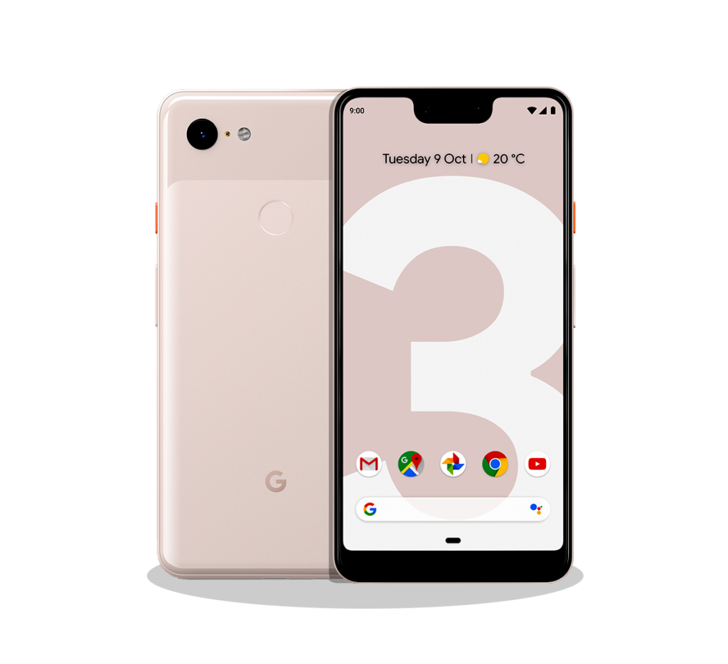 Google Pixel 3a XL من الاجهزة التي تدعم esim