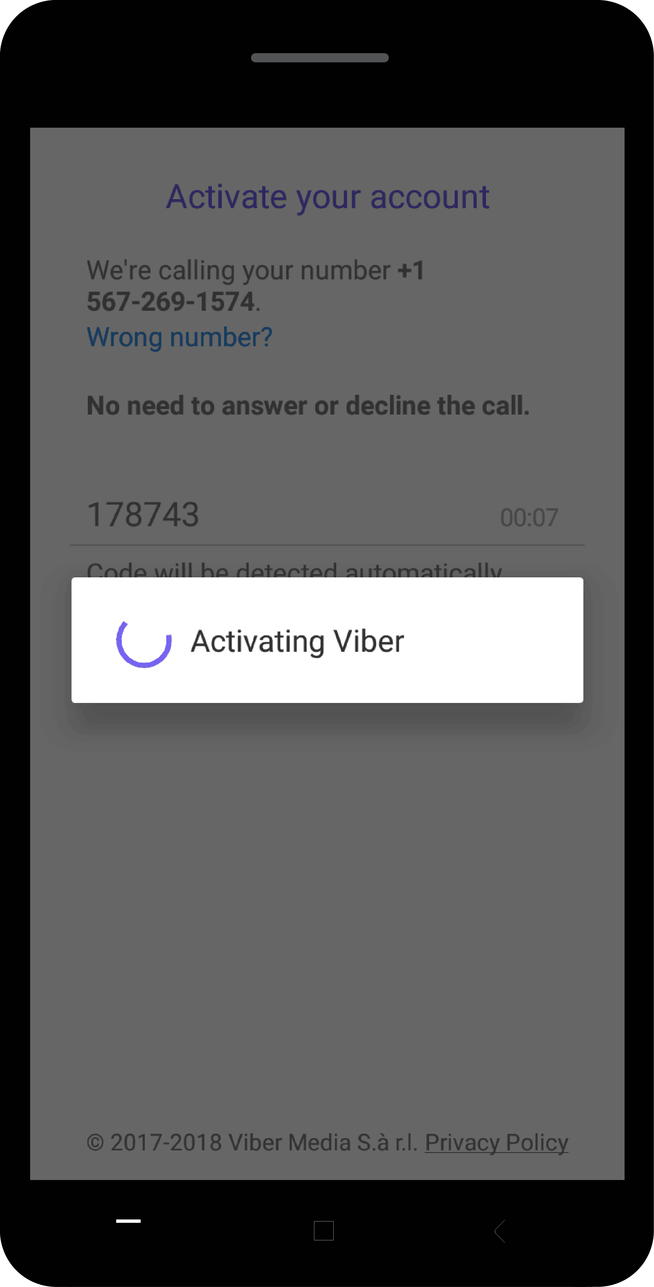 Activate-Viber-Step-5