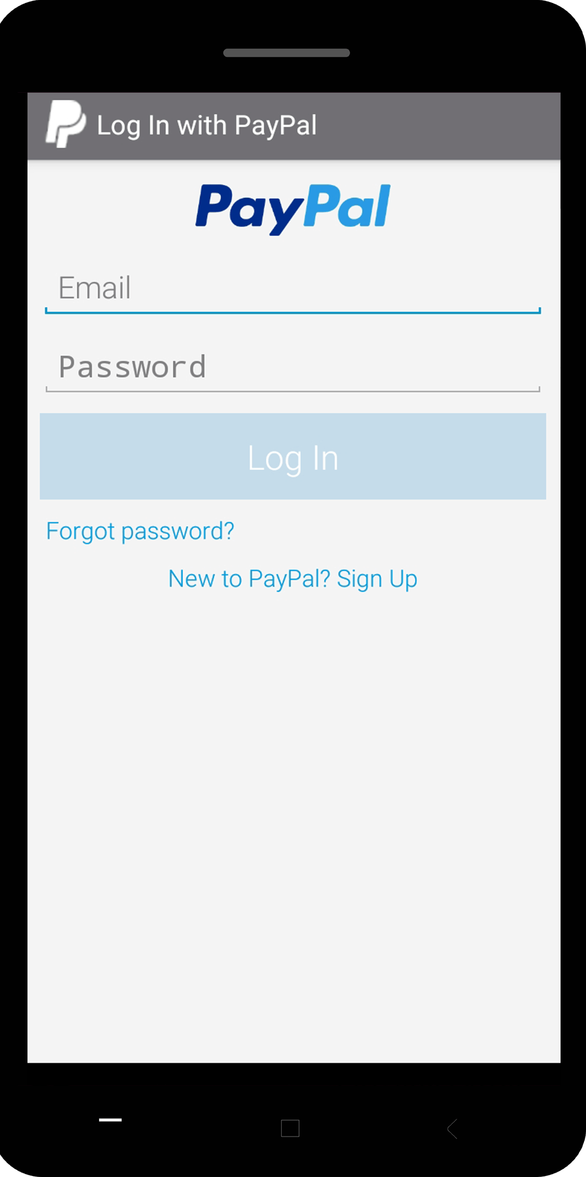 PayPal as a payment method