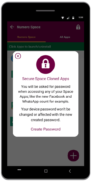 secure clone apps with Android