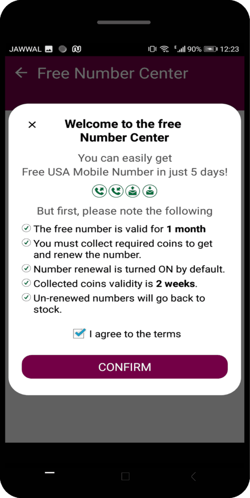 welcome to the free Number Center